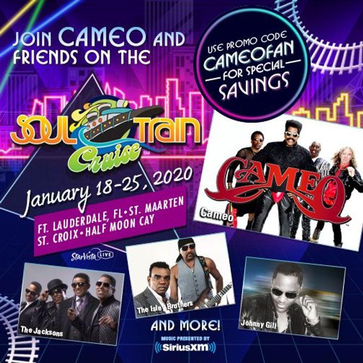 Soul Train Cruise 2020.Bandsintown Cameo Tickets Soul Train Cruise Jan 18 2020