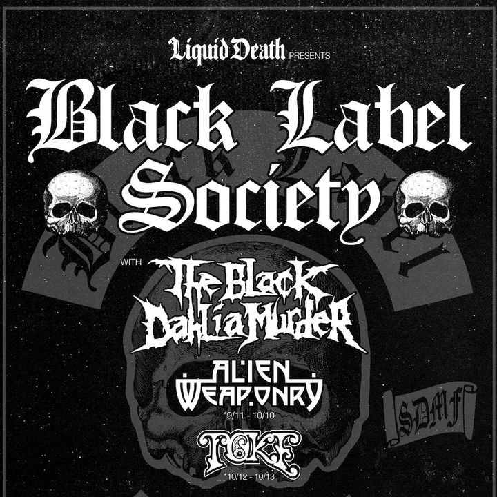 Black Label Society Tickets - House Of Blues