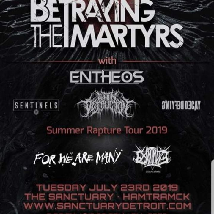 Bandsintown | For We Are Many Tickets - The Sanctuary, Jul 23, 2019