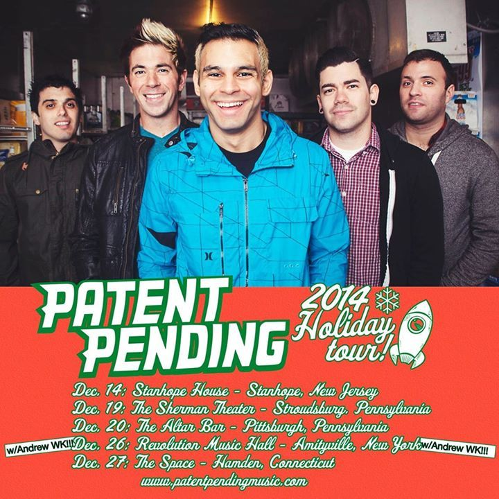 Patent Pending @ O2 Academy Newcastle - Newcastle Upon Tyne, United Kingdom