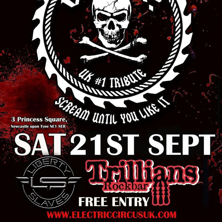 Bandsintown   Electric Circus UK Tickets - Trillians, Sep 21