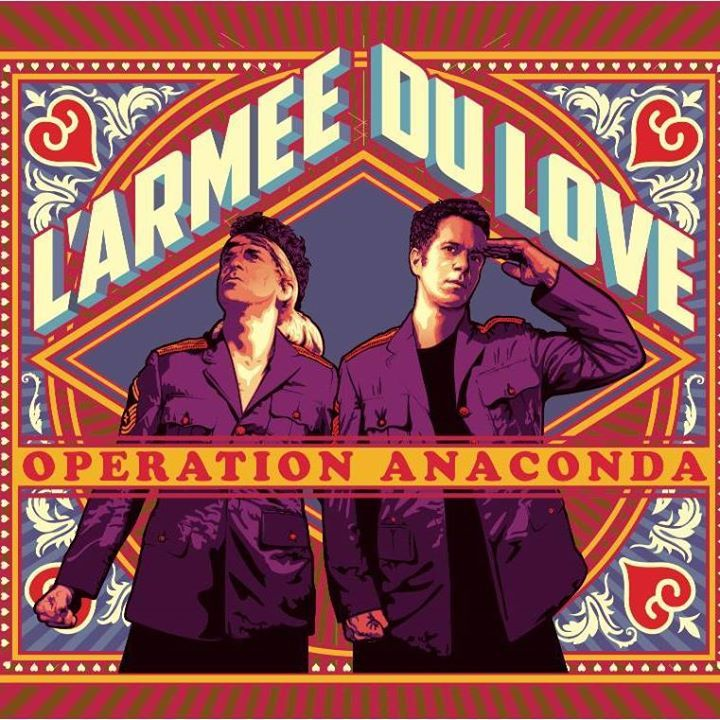 L'Armée Du Love Tour Dates