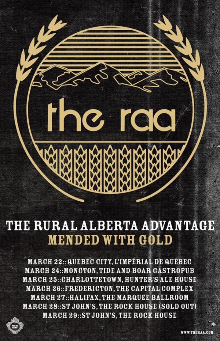 The Rural Alberta Advantage @ Lachine Canal - Montreal, Canada