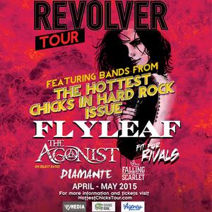 Revolver Magazine Hottest Chicks In Hard Rock Tour Riverside Warehouse