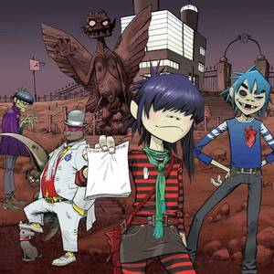 Gorillaz Jockey Club