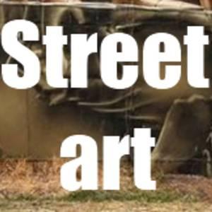 Street Art Kosmonaut