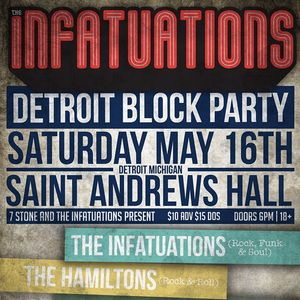 The Infatuations Saint Andrews Hall