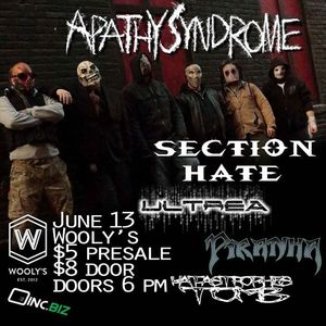 Apathy Syndrome Wooly's