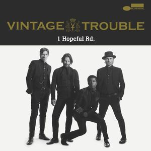 VINTAGE TROUBLE Ford Field