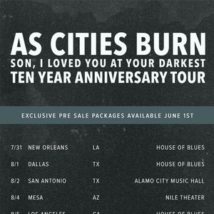 As Cities Burn House of Blues