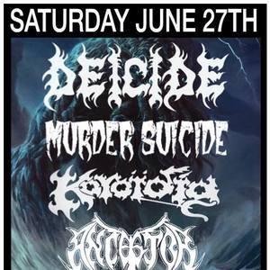 Deicide Live Stage