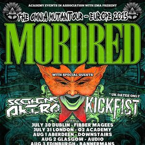 Mordred Manchester Academy 3