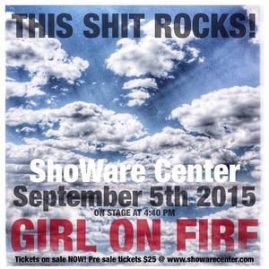 Girl on Fire WOW Hall