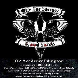 one for sorrow O2 Academy Islington