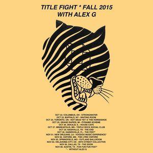 Title Fight The Horseshoe Tavern