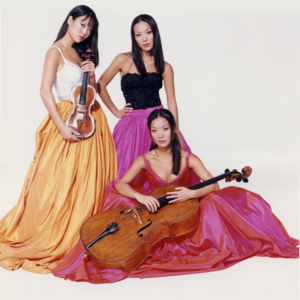 Ahn Trio New Jersey Performing Arts Center