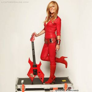 Lita Ford Hard Rock Live