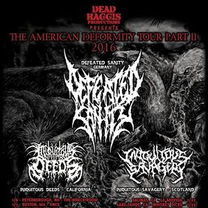 Defeated Sanity Marquis Theater