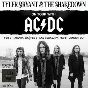 Tyler Bryant & the Shakedown Sprint Center