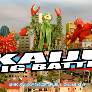 Kaiju Big Battel Once Ballroom