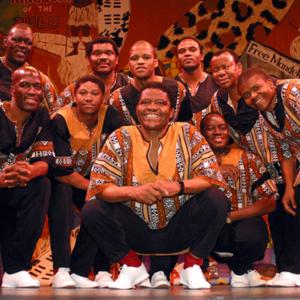 Ladysmith Black Mambazo Rams Head On Stage