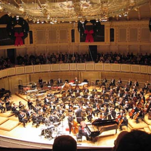 Chicago Symphony Orchestra Stern Auditorium / Perelman Stage at Carnegie Hall