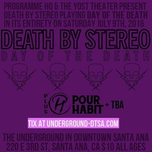 Death by Stereo Marquis Theater
