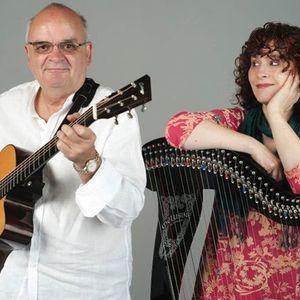 Máíre Ní Chathasaigh & Chris Newman (Irish Harp & Guitar) Totton