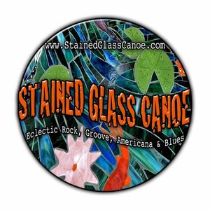 Stained Glass Canoe Green Heron Alehouse