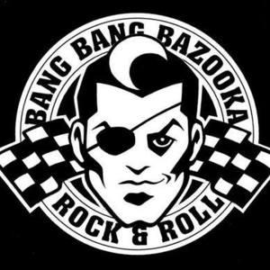 Bang Bang Bazooka Rockabilly Square Tiki Style