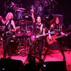 Girlschool O2 Shepherds Bush Empire