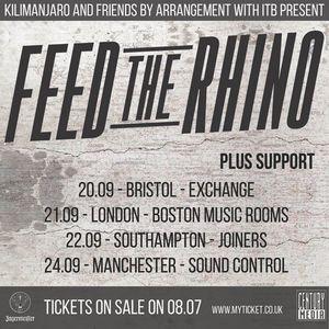Feed The Rhino O2 Academy Birmingham