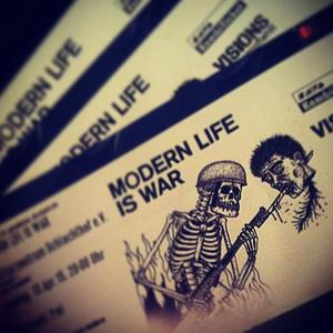 Modern Life Is War Nouveau Casino