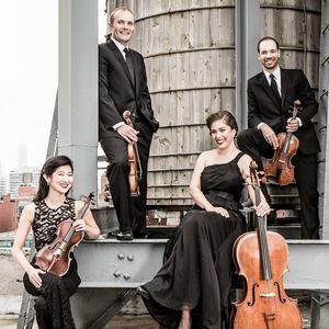 Jasper String Quartet Market Square Chamber Concerts with Jupiter String Quartet