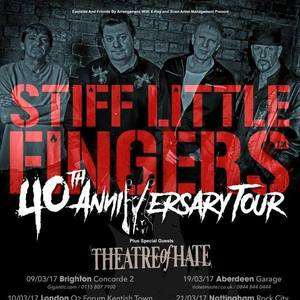 Stiff Little Fingers O2 Ritz Manchester