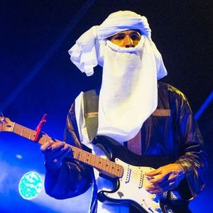 Mdou Moctar Band on the Wall
