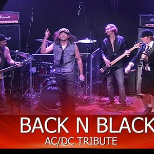 Backnblack ACDC tribute band Vinnies