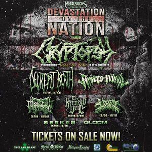 Devastation On The Nation Tour Reading