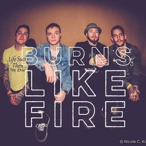 BURNS LIKE FIRE The Radio Room w/ Micheal Graves