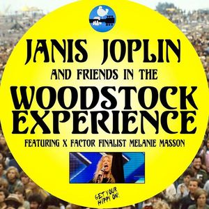Janis Joplin and friends in the Woodstock Experience Pavilion Theatre
