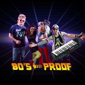 80's Proof Halloween Party at Ice House Inn