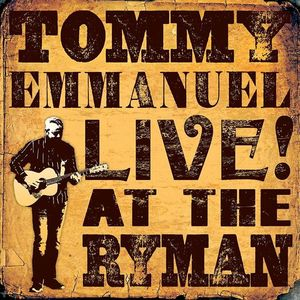 Tommy Emmanuel Cullen Performance Hall