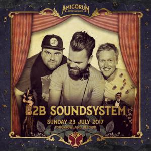 B2B Sound System Blacklight festival