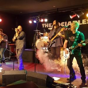 The Sociables, classic rock and blues. Maroondah Sports Club