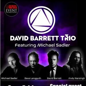David Barrett Trio regent concert theatre
