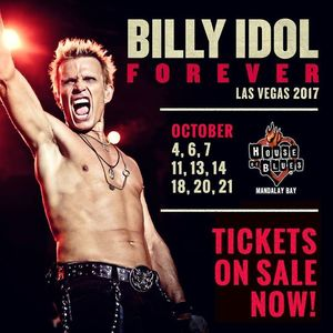Billy Idol Hollywood Bowl