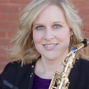 Sarah Roberts, saxophonist Los Pinos Ranch & Vineyards