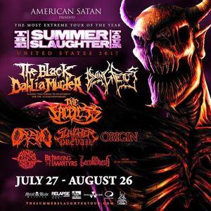 Summer Slaughter Tour Bogart's