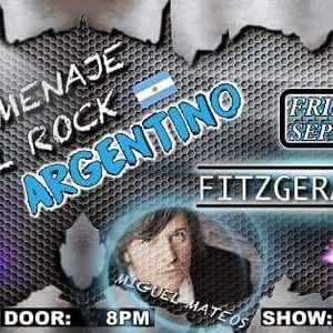 Homenaje al Rock Argentino Fitzgerald's