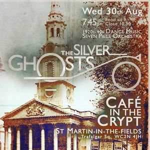 The Silver Ghosts Cafe in the Crypt